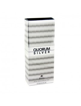 QUORUM SILVER EAU DE TOILETTE 100ML SPRAY