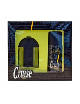 CRUISE ESTUCHE EDT 75ML VAPO+DEO150ML SP